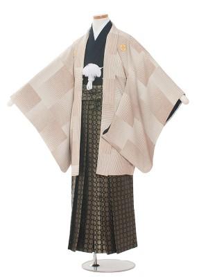 小学校 卒業式 男の子 袴1359 クリーム/袴85