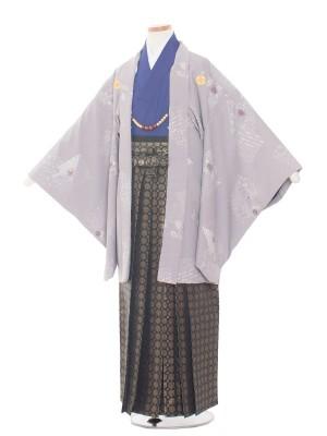 小学生卒業式袴レンタル(男の子)1361 ライトグレー/袴85