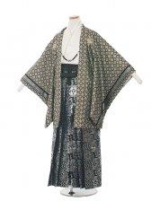 ジュニア(13男)1370 織美桐/格子 袴85cm