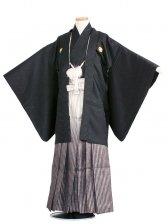 ジュニア(13男)1402-2 黒/黒ぼかし袴