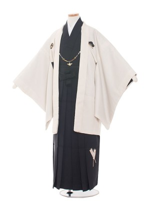 小学校 卒業式 男の子 袴1420オフ白×黒/小町
