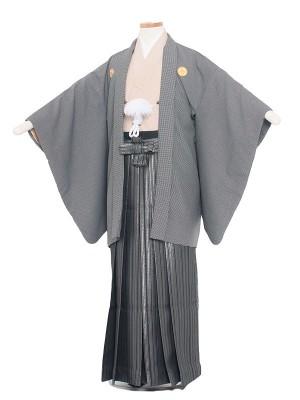小学生卒業式袴レンタル(男の子)1414 おしゃれ千鳥