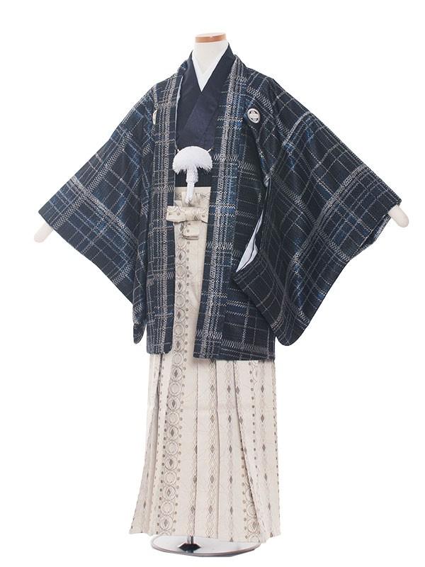 小学生卒業式袴男児1380 紺色/紺