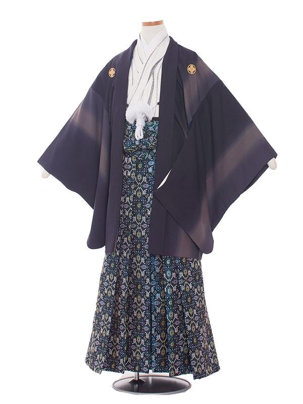 小学生卒業式袴男児1328 濃紺ぼかし/袴