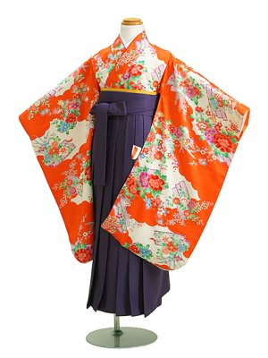 七五三 袴 5~7歳女児 ウ 卒園式 入学式