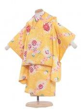 七五三(2女)2040 黄色/桜にまり