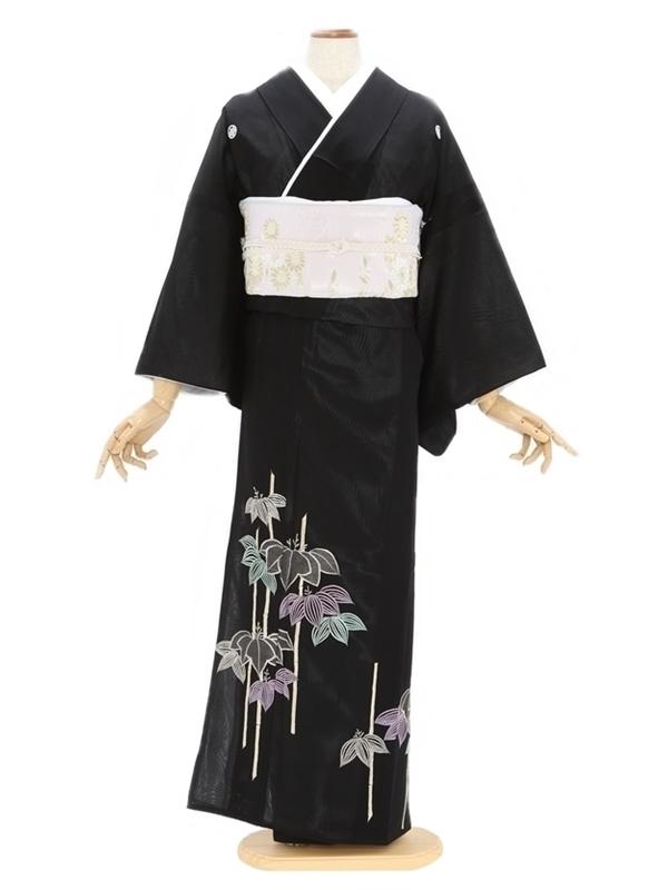 留袖(絽)6京竹刺繍