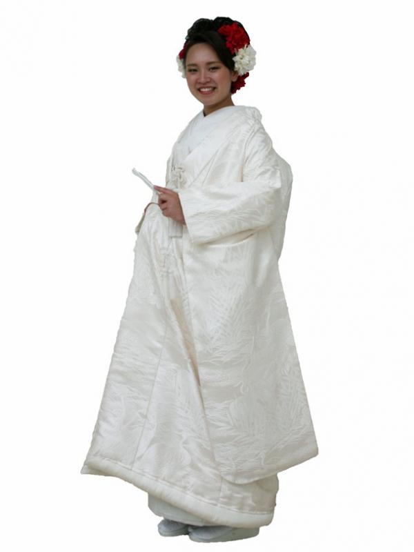 白打掛レンタル0023コシノヒロコ ツルの舞