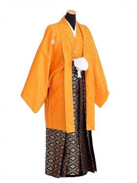 卒業式成人式袴男レンタル071*4/やまぶき/金菱