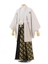 卒業式成人式袴レンタル169白刺子紋付×グリーン金