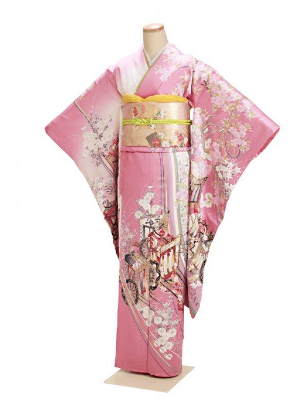 振袖 成人式 ピンク 0088