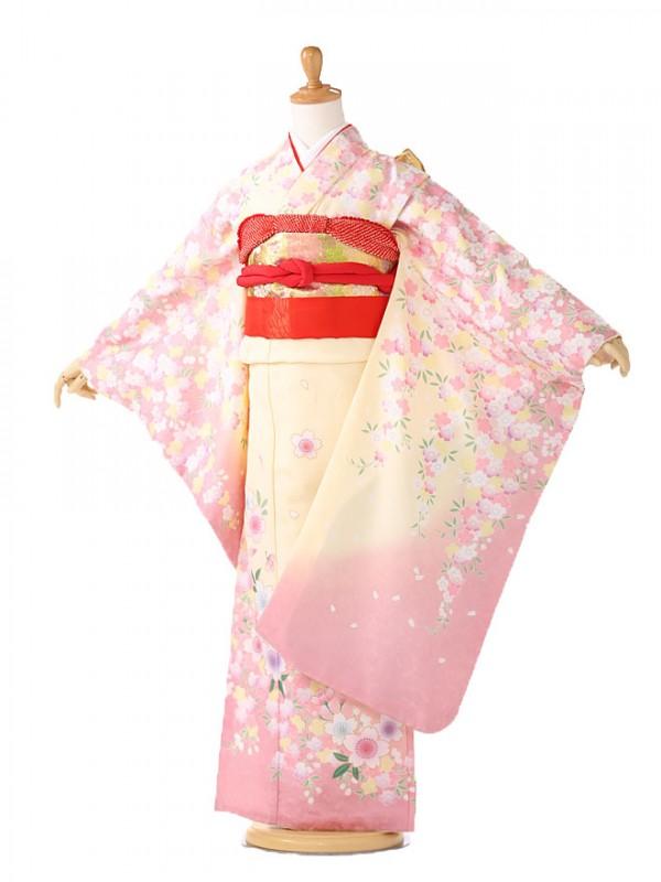 七五三7歳菊姫・クリーム 7161