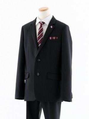 [男児スーツ]長ズボン グレーシャドーストライプ 0086 160cm~