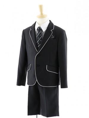 男児 パイピングジャケットスーツ ギンガムチェックシャツ 0058 100㎝~
