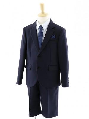 [男児スーツ]半ズボン 濃紺スーツセット 0059 100㎝~