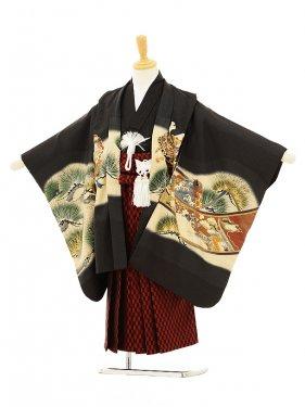 753レンタル(5歳男袴)5128 黒兜