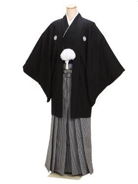 黒紋付羽織袴 LLサイズ ゲスト 結婚式