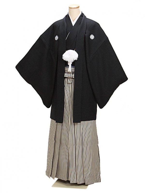 黒刺子 最高級黒紋付 LLサイズ 新郎 結婚式