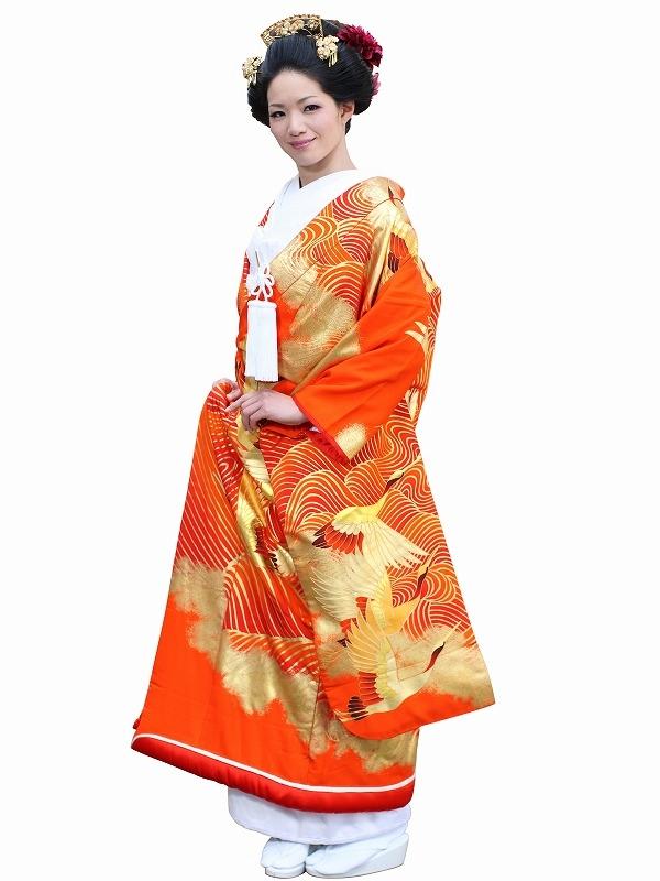 色打掛レンタル120京友禅 寿海の舞