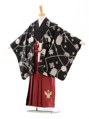 七五三(5歳男袴)D011 スザンヌSHYKIDS黒