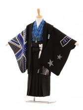 七五三(5歳男袴)D012 Akina Minami黒POCK K