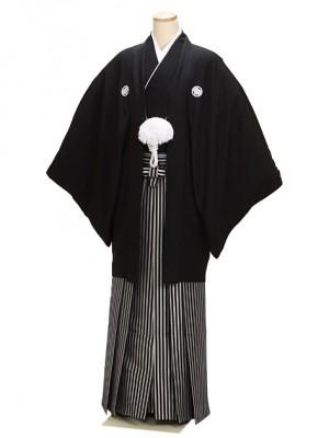 最高級黒紋付 Mサイズ 正絹 新郎 結婚式