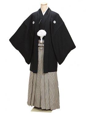 黒刺子 最高級黒紋付 Mサイズ 新郎 結婚式