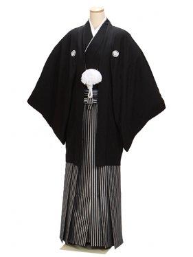 高級黒紋付 Mサイズ 正絹 新郎 結婚式