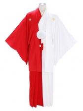 紋付袴343/紅白/紅白