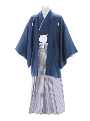 紋付袴47/青/青刺子用