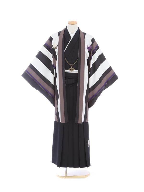 紋付袴307/黒/黒