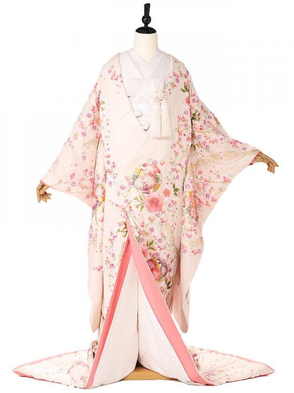 色打掛ピンク桜3173
