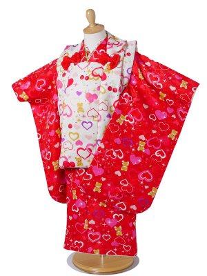 PATTi PATTi 3歳 貸衣装 子供 女児 セット ハート