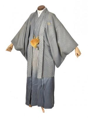 男性用袴・成人式・大和グレー5号