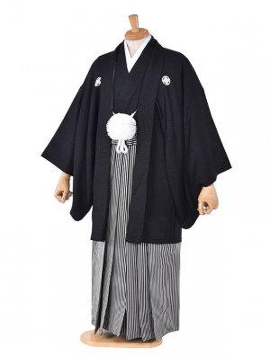 男性用袴・成人式・卒業式・正絹うるし紋服