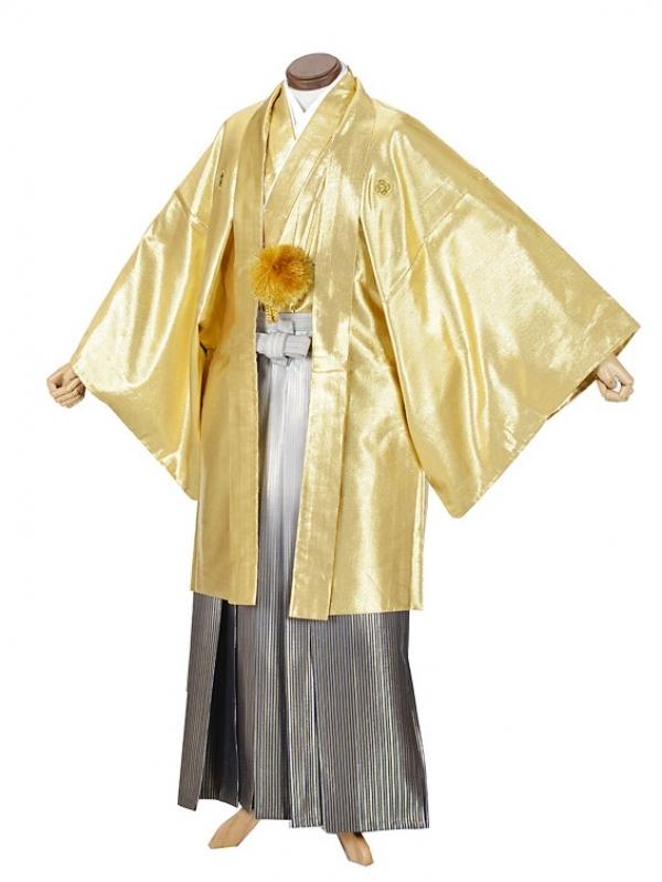 男性用袴・成人式・ゴールド7号
