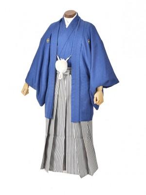 男性用袴・成人式・紺/縞