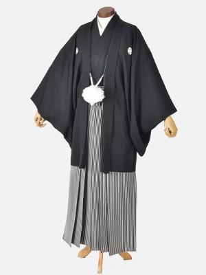 男性用袴・成人式・卒業式・結婚式・黒紋付