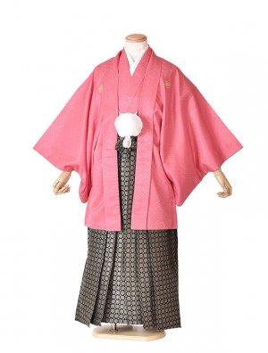 男性用袴・成人式・ピンク6号