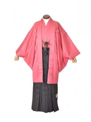 ピンク 袴 黒
