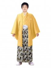 E-SV02-5-1 5号黄紋付竜袴