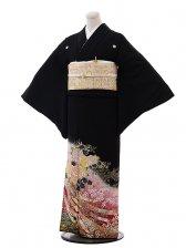 黒留袖レンタルQ3-50赤バラの園
