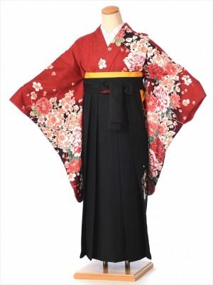 ジュニア小学校卒業式袴(女の子)8AR02