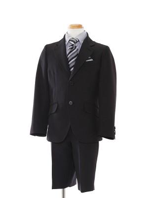 [男児スーツ]半ズボン/黒ストライプ/BS01
