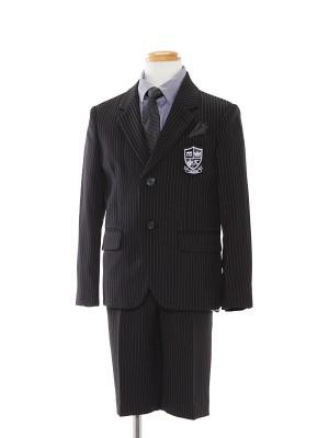 [男児スーツ]半ズボン/ストライプモードスーツ/BS41
