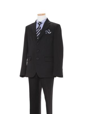 [男児スーツ]長ズボン/黒ストライプスーツ/BS42