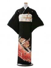 留袖 319 亀甲に鶴