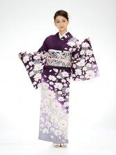 訪問着紫花づくし6169