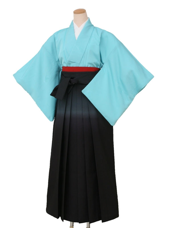 卒業袴レンタル 7253ブルーB148