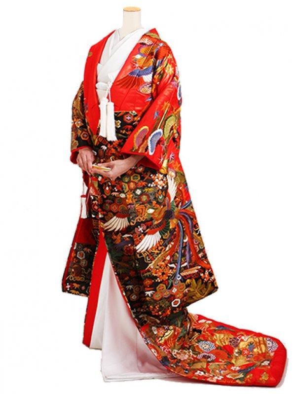 最高級色打掛 0820 正絹刺繍